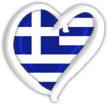 Greece Eurovision flag