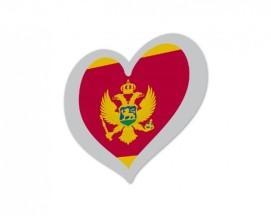 Montenegro Eurovision flag