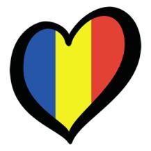 Romania Eurovision flag
