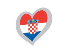 Croatia Eurovision flag