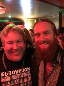 Matt loves Eurovision with Rasmussen